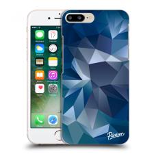 Picasee Fekete szilikon tok az alábbi mobiltelefonokra Apple iPhone 7 Plus - Wallpaper tok és táska