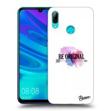Picasee Fekete szilikon tok az alábbi mobiltelefonokra Huawei P Smart 2019 - Be original tok és táska