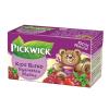 """Pickwick Gyümölcstea, 20x1,5 g, , """"Gyerektea"""", málna"""