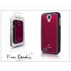 Pierre Cardin Samsung i9500 Galaxy S4 alumínium hátlap - red