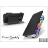 Pierre Cardin Samsung SM-G900 Galaxy S5 flipes slim tok - Pierre Cardin DeLuxe Slim Folio - black