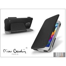 Pierre Cardin Samsung SM-G900 Galaxy S5 flipes slim tok - Pierre Cardin DeLuxe Slim Folio - black tok és táska
