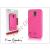 Pierre Cardin Samsung SM-G900 Galaxy S5 hátlap - pink