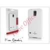 Pierre Cardin Samsung SM-G900 Galaxy S5 hátlap - white