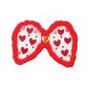 Pillangó szárny piros, szíves - 6 13592