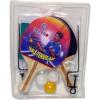 Pingpong ütő 2 darabos készlet labdával és hálóval