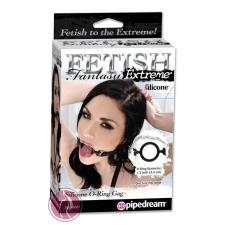 Pipedream - Fetish Fantasy Extreme Fetish Fantasy Extreme Silicone O-Ring Gag - Black szájpecek