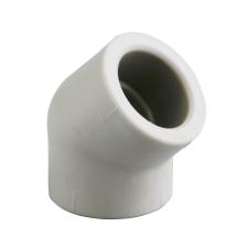 Pipelife Hungária Műanyagipari Kft. Instaplast D40 PP 45°-os BB könyök idom hűtés, fűtés szerelvény