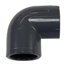 Pipelife Hungária Műanyagipari Kft. PVC-U 90° könyök idom 25mm, ragasztható nyomócső idom hűtés, fűtés szerelvény