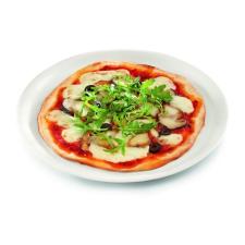 . Pizzatányér fehér, 33 cm tányér és evőeszköz
