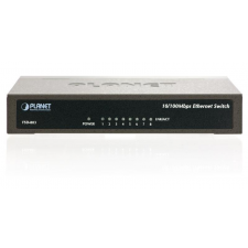 Planet Switch Planet FSD-803 (8x 10/100Mbps) hub és switch