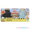Play-Doh : Kerekek - aszfalt és cement gyurmakészlet