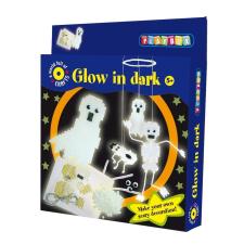 Playbox Kreatív szett - fluoreszkáló szellemek kreatív és készségfejlesztő