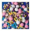 Playbox Pom-Pom, vegyes méret, pasztell, 500 db