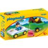 Playmobil 1.2.3 Kisautó lószállítóval 70181