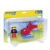 Playmobil Az első tűzoltó helikopterem - 6789