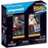 Playmobil Back to the Future Marty McFly és Dr. Emmett Brown 1955 70459