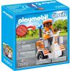 Playmobil City Life Doktornő Kétkerekű Járgánnyal 70052