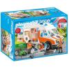 Playmobil City Life Mentőautó villogó fényekkel (70049)