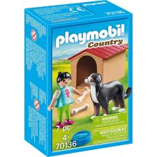 Playmobil Country Házőrző kutyaházzal 70136 playmobil