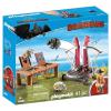 Playmobil Dragons Bélhangos bárány katapulttal 9461