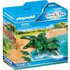 Playmobil Family Fun Gorilla kicsinyeivel 70360