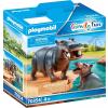 Playmobil Family Fun Víziló kicsinyével 70354