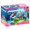 Playmobil Magic Sellő család kagyló babakocsival - 70100