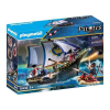 Playmobil Pirates Vörös zubbonyos katonák hajója 70412