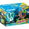 Playmobil SCOOBY-DOO! Scooby és Bozont szellemmel 70287