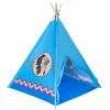 PlayTo Gyermek indián sátor teepee PlayTo kék
