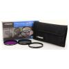 Polaroid szűrőszett (UV, CPL, FLD) + 4 db-os szűrőtok 52 mm (P-PL3FIL52)