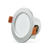 Polux LED Beépíthető lámpa VENUS LED/7W ezüst kerek