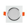 Polux LED Beépíthető lámpa VENUS LED/7W fehér szögletes