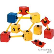 Polydron négyzetek tartó elemekkel barkácsolás, építés
