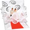 Popshots Studios Popshot 3D-s képeslap  négyzet  Menyasszony és vőlegény