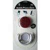PopSocket, telefonra tapasztható telefontartó és ujjtámasz, piros csillámos