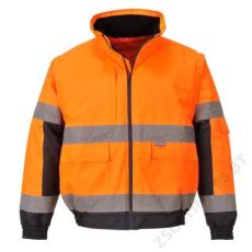 Portwest C468 Hi-Vis 2 az 1-ben kabát