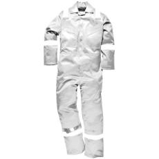 Portwest FR50 Lángálló antisztatikus overál *fehér*