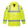 PORTWEST Jól láthatósági Traffic kabát, Yellow, L (XS-7XL)