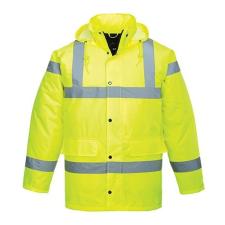 PORTWEST Jól láthatósági Traffic kabát, Yellow, L (XS-7XL) láthatósági ruházat