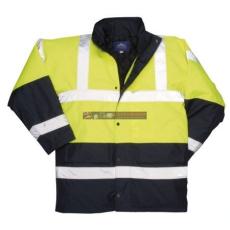 Portwest S466 Kontraszt Traffic kabát (SÁRGA XS)
