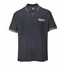 Portwest TX20 - Texo Contrast pólóing - fekete
