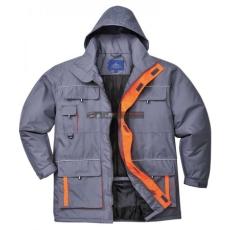 Portwest - TX30 Texo Contrast kabát (SZÜRKE XL)