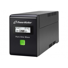 POWERWALK Power Walker UPS Line-Interactive 600VA 2x PL 230V, PURE SINE, RJ11/RJ45,USB,LCD laptop kellék