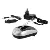 Powery Akkutöltő Sony NP-QM51