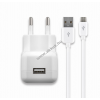 Powery Cabstone hálózati töltő micro USB fekete (2,1A) tablet, okostelefon