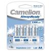 Powery Camelion akku típus LR6 (ceruzaakku típus) AlwaysReady 4db/csom. 2300mAh