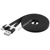 Powery Goobay USB kábel 2.0 – micro USB csatlakozóval 2m fekete