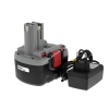 Powery Utángyártott akku Bosch fúrócsavarozó GSR VE-2 O-Pack Li-Ion + töltő